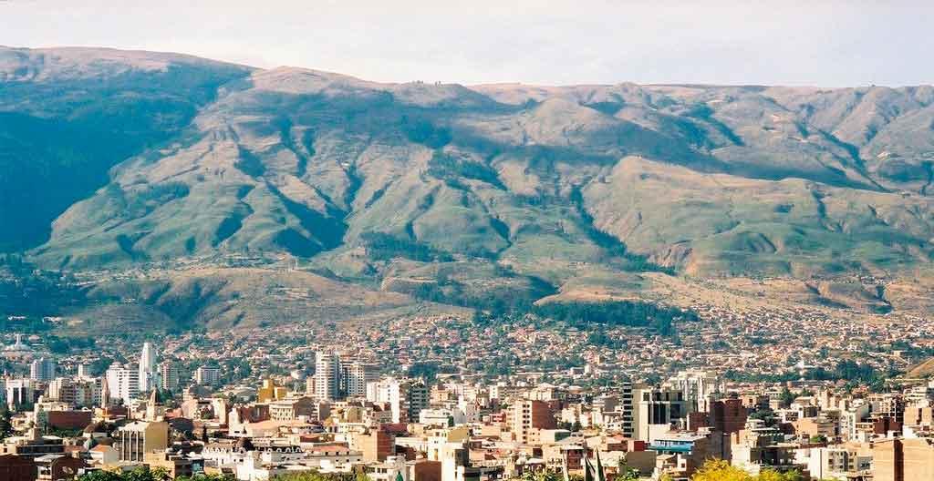 Cidades da Bolívia cochabamba