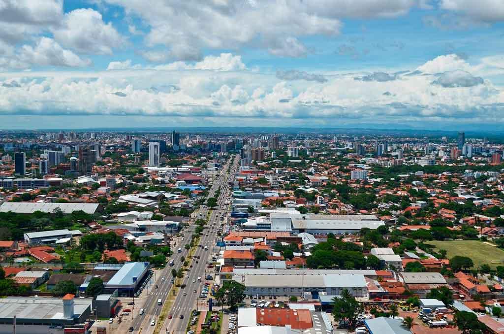 Cidades da Bolívia como ir