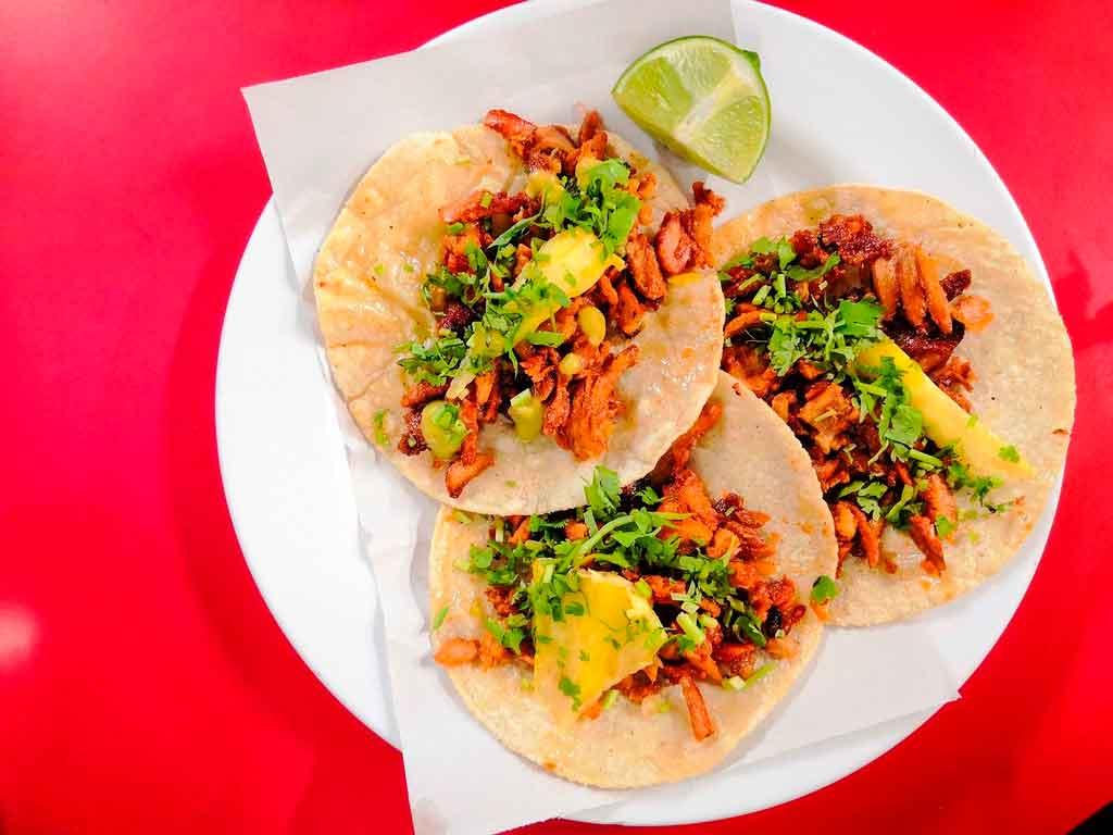 Comidas típicas do México Tortilhas