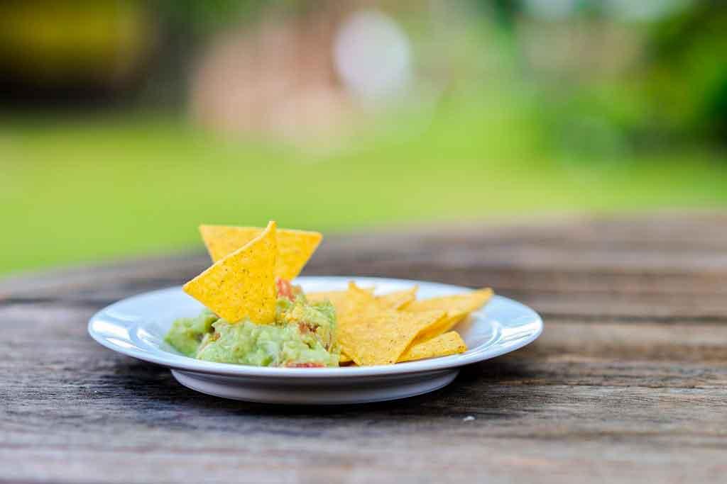 Comidas típicas do México Guacamole