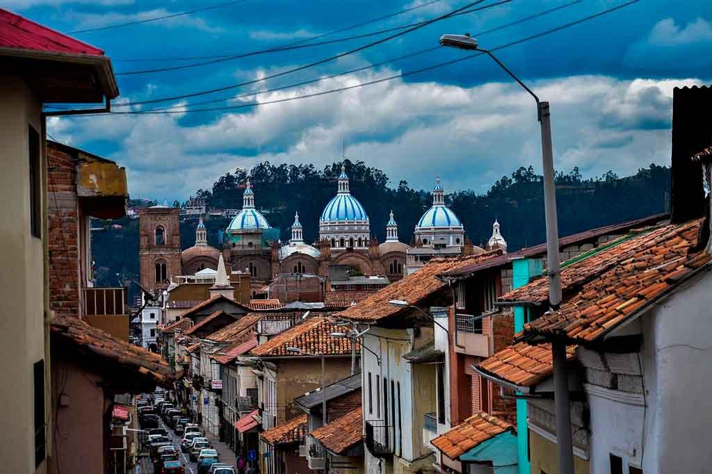 Cuenca Equador centro histórico