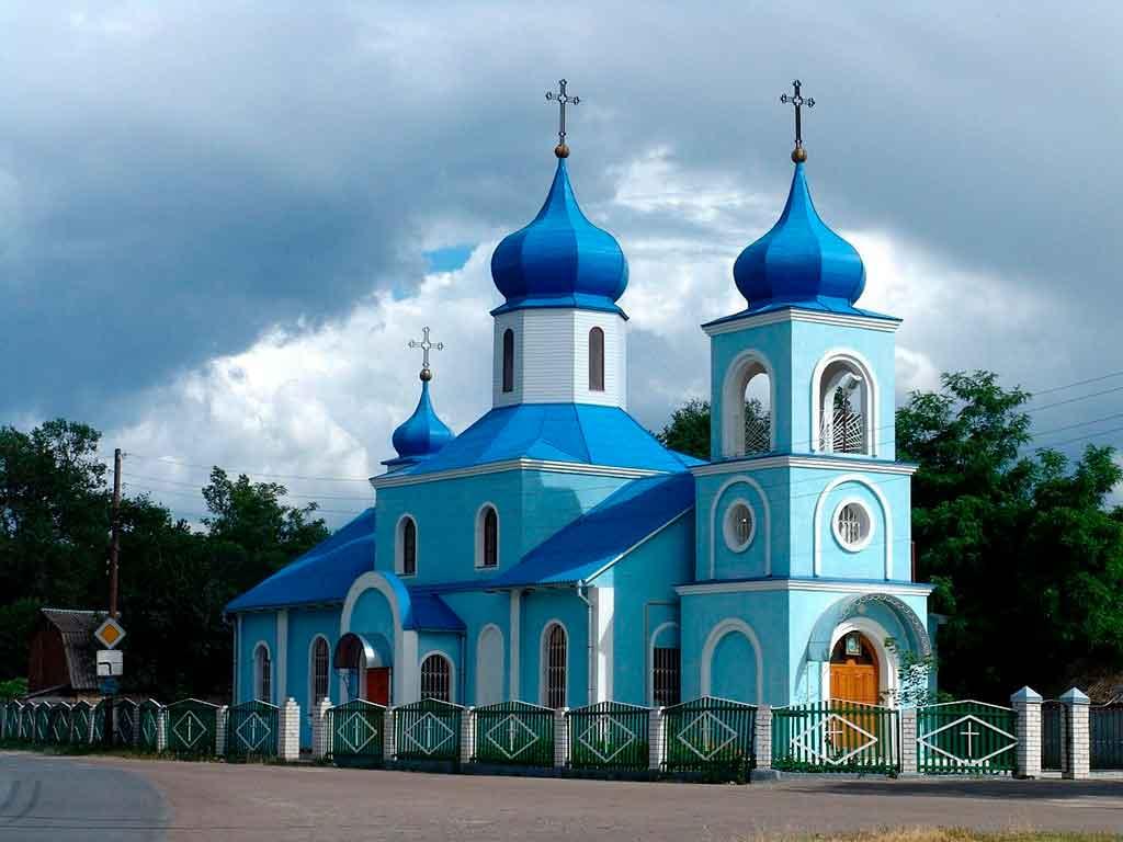 Leste Europeu igreja de Moldavia