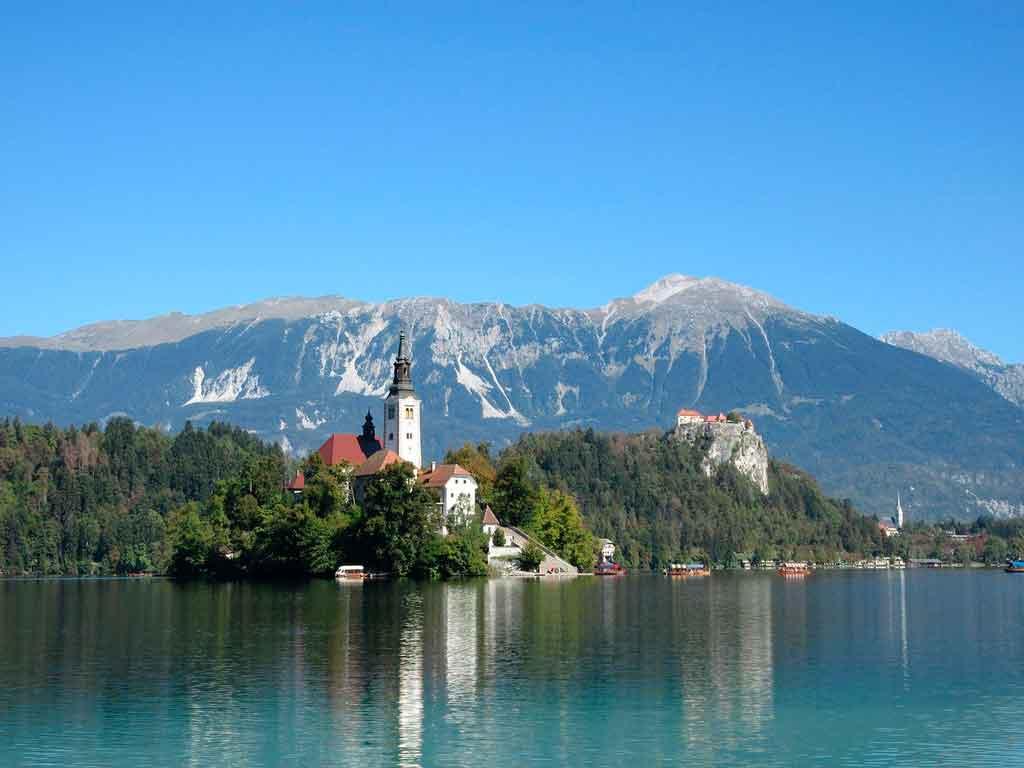 Leste Europeu Lago Bled