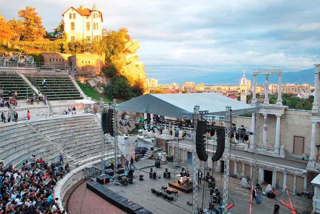 Leste Europeu Teatro Romano