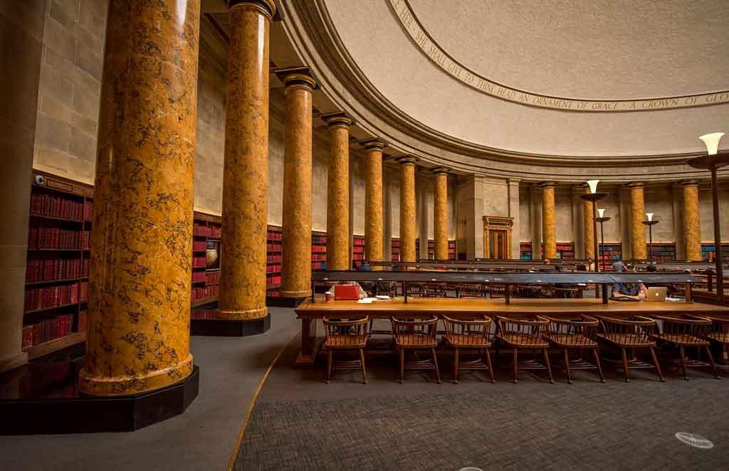 Manchester Inglaterra biblioteca