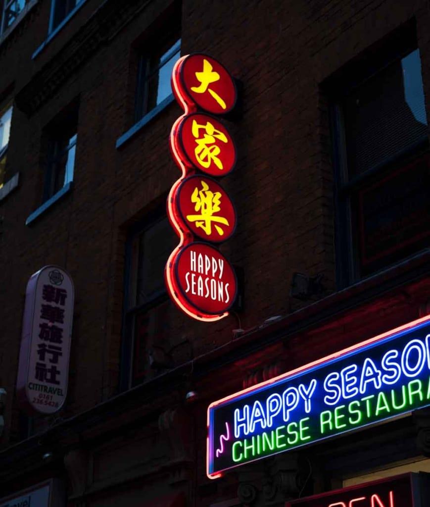 Manchester Inglaterra Chinatown