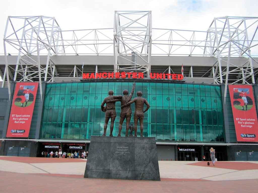 Manchester Inglaterra Estádios