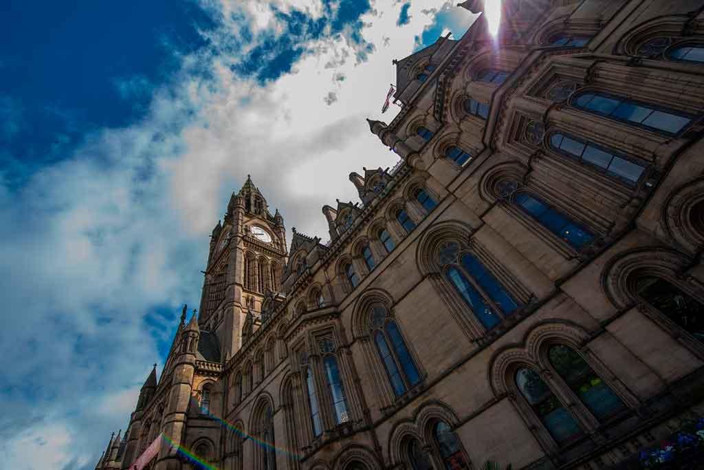 Manchester Inglaterra Town Hall