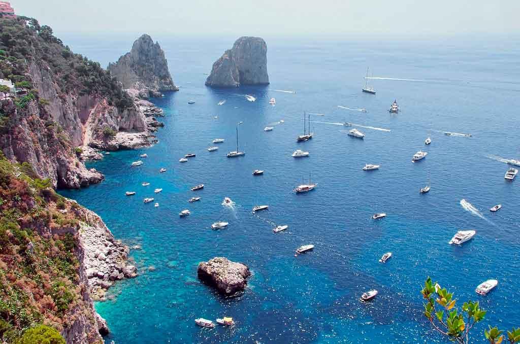 Mapa Itália Capri