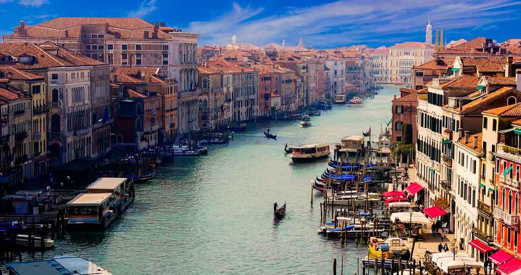 Mapa Itália quando ir