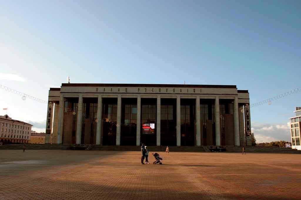 Minsk palácio da republica