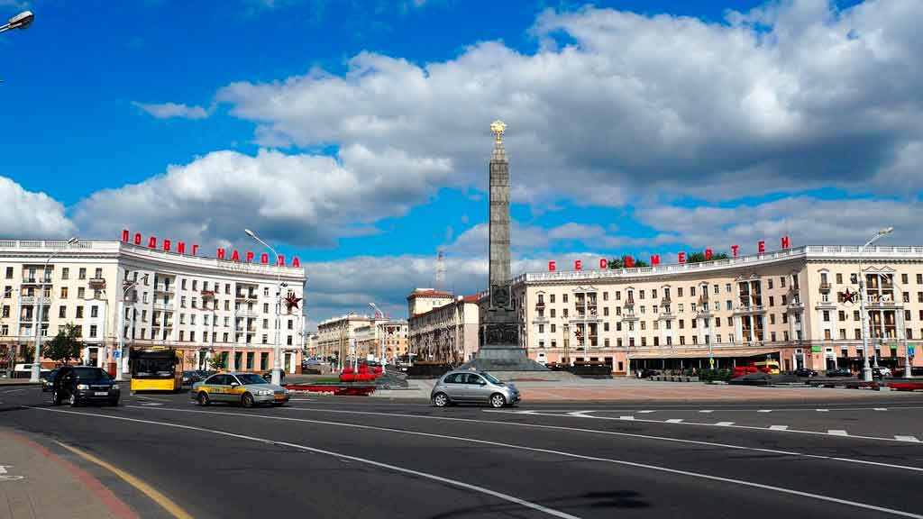Minsk victory square
