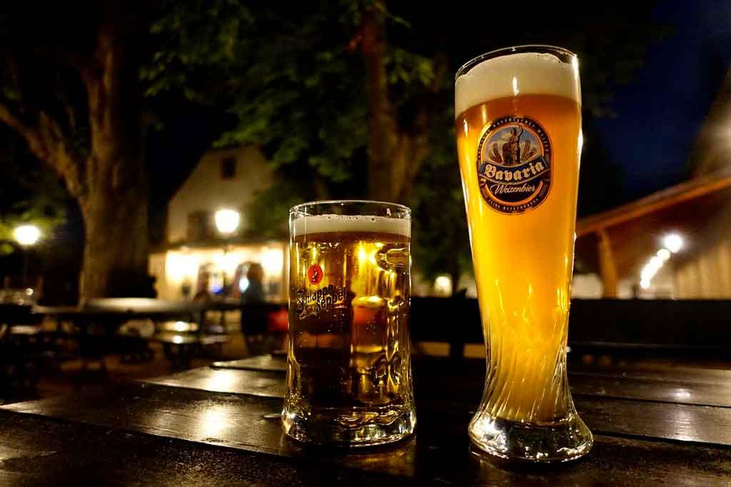 Munique Alemanha biergarten