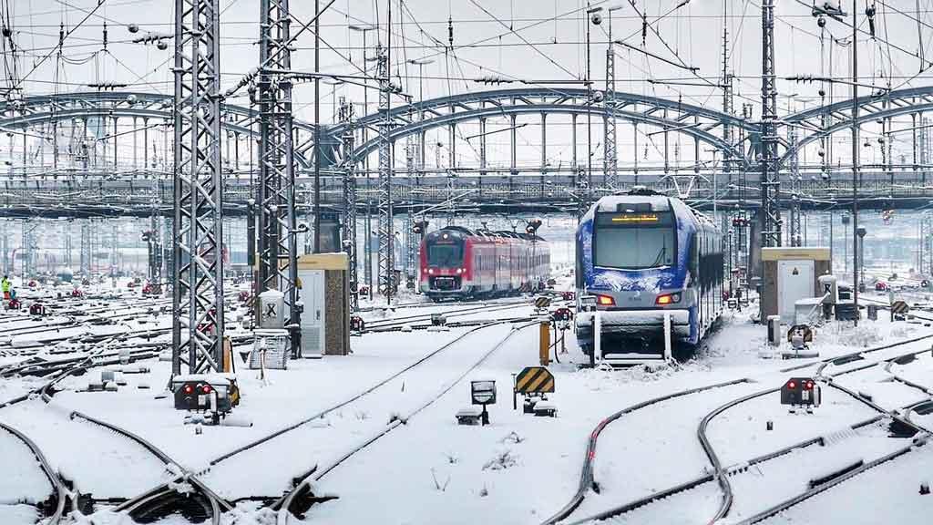 Munique Alemanha inverno