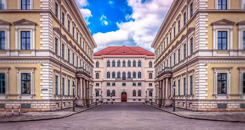 Munique Alemanha odeonplatz