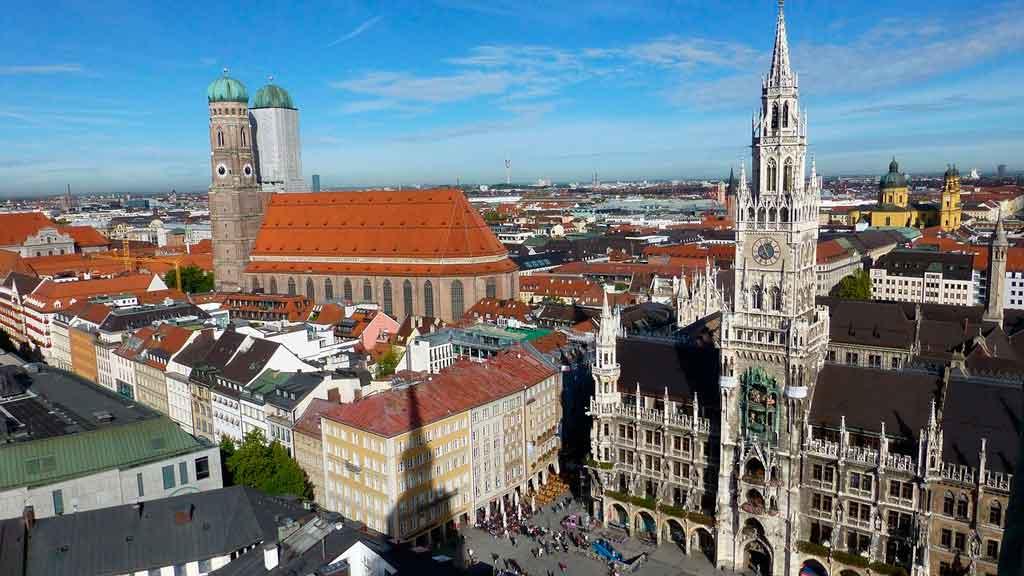 Munique Alemanha onde fica