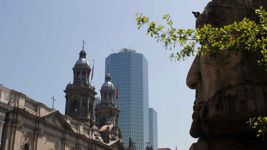 Pontos turísticos de Santiago catedral metropolitana