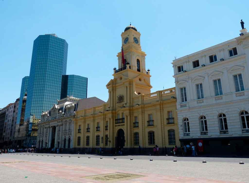 Pontos turísticos de Santiago plaza de armas