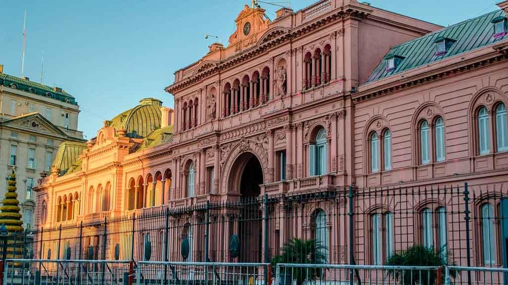 Pontos turísticos em Buenos Aires casa rosada