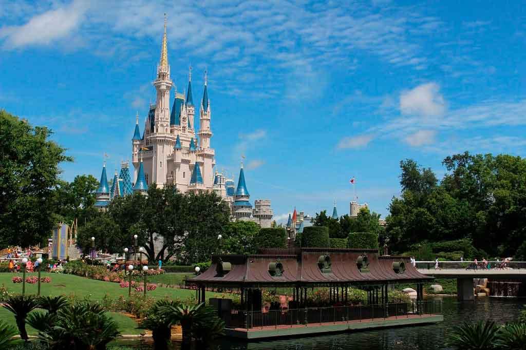 Pontos turísticos nos Estados Unidos Walt Disney