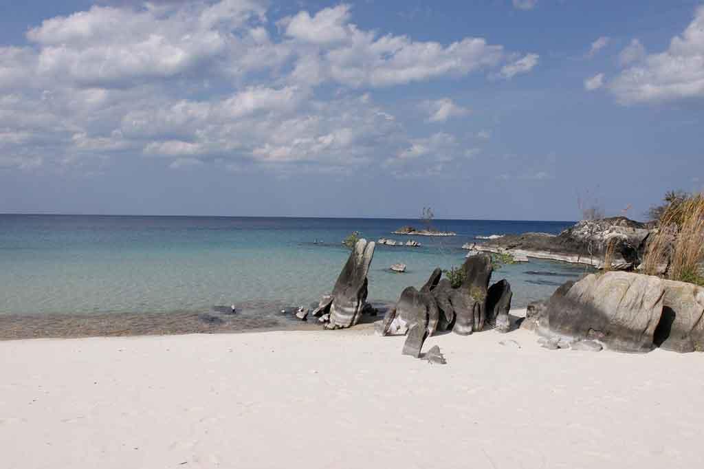 Praias de Moçambique quando ir