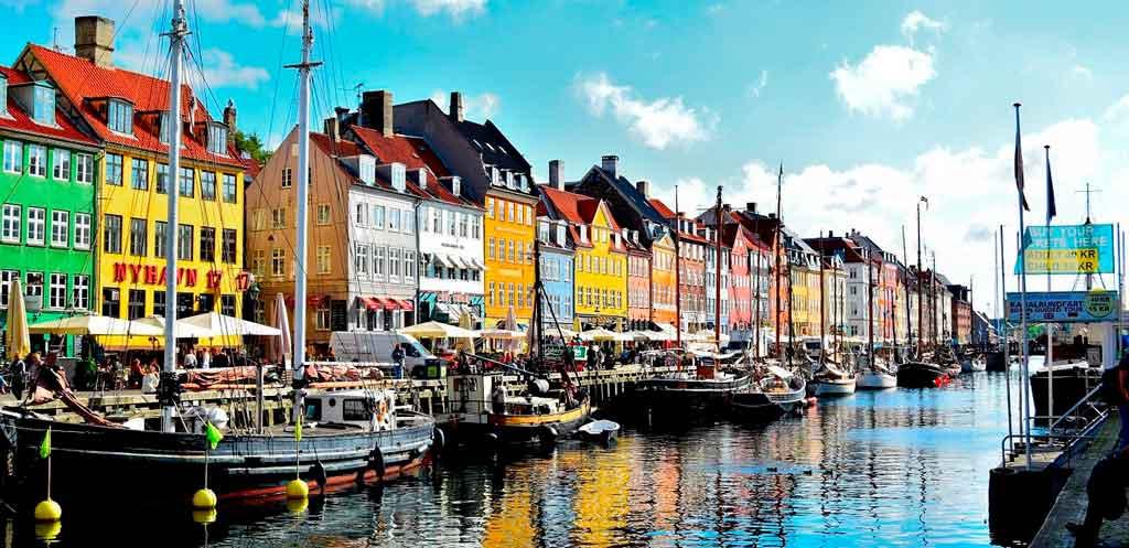 Quais são os países Nórdicos Dinamarca