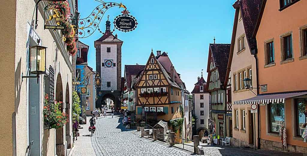 Rothenburg ob der Tauber Plonlein