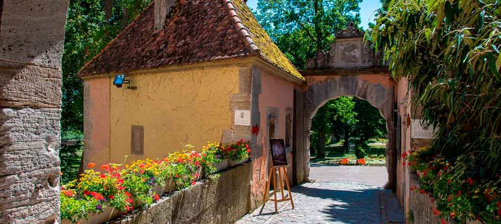 Rothenburg ob der Tauber como ir de munique