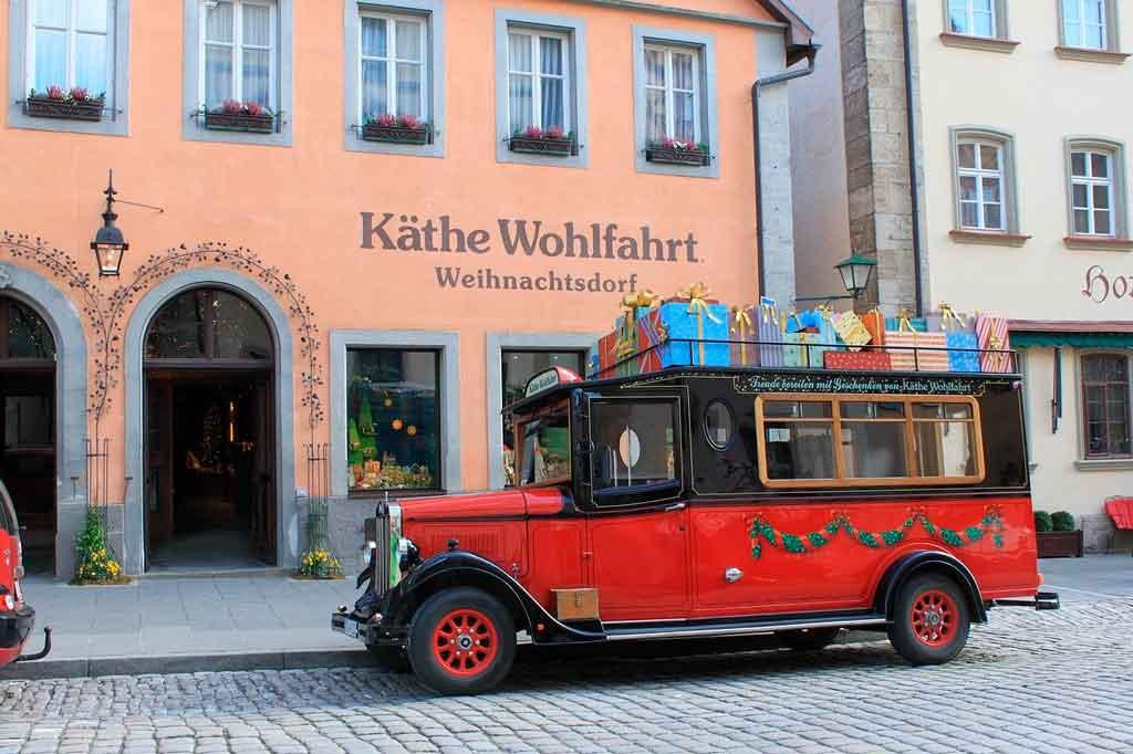 Rothenburg ob der Tauber Loja Käthe Wohlfahrt