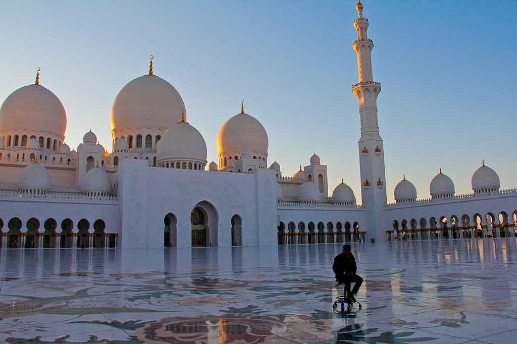 Abu Dabhi mesquita Sheikh Zayed