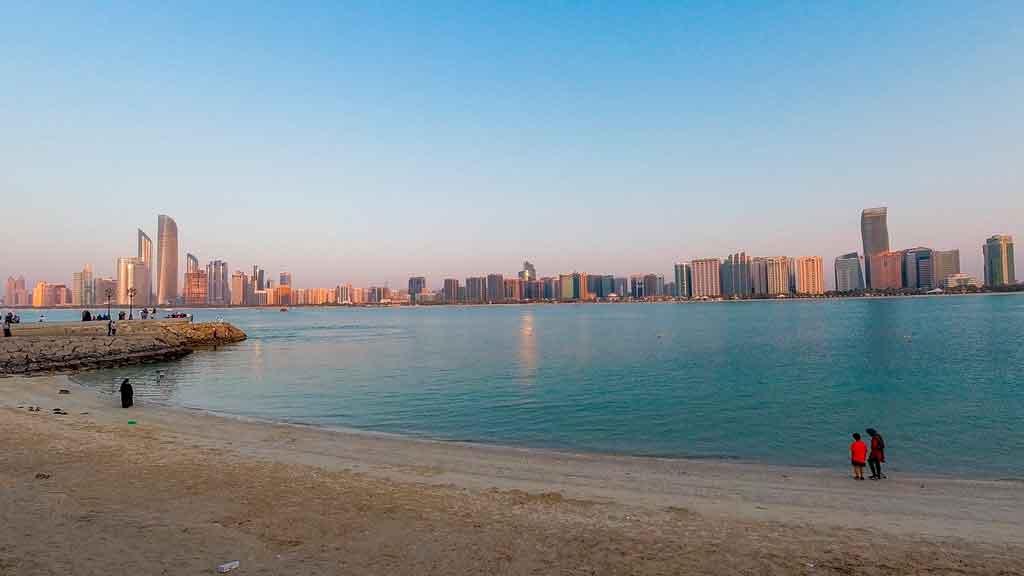 Abu Dabhi praias