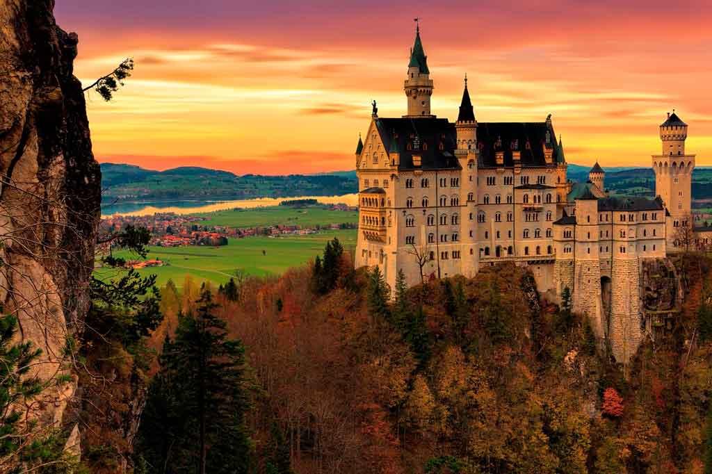 Baviera alemanha Castelo de Neuschwanstein