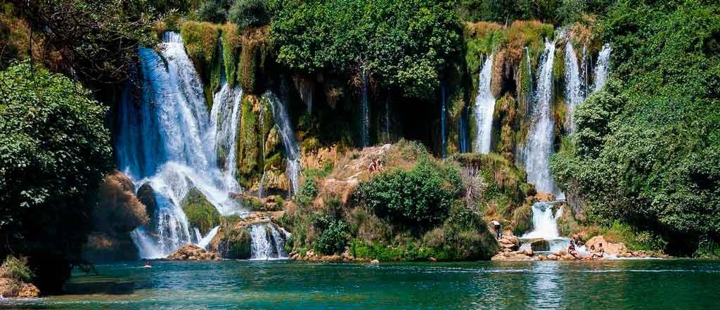 Bosnia e Herzegovina Kravice Falls