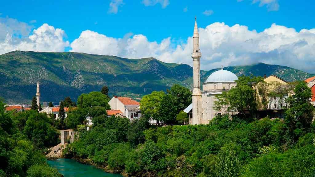 Bosnia e Herzegovina onde fica