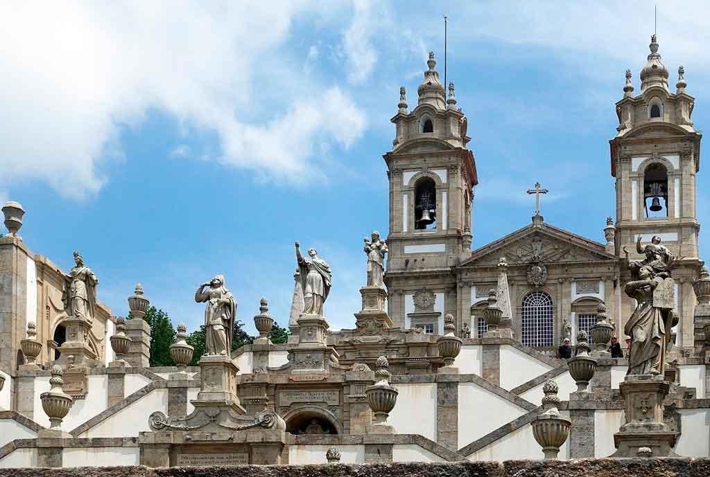 Braga Portugal santuario do bom jesus do monte