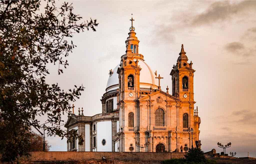 Braga Portugal santuario do sameiro