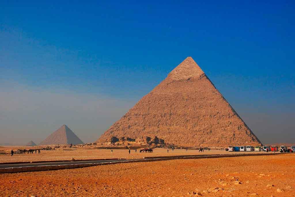 Cairo Egito Pirâmides de Gizé