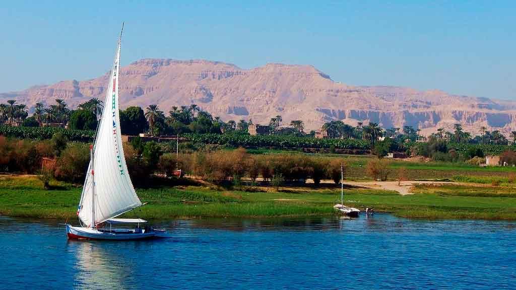 Cairo Egito Rio Nilo