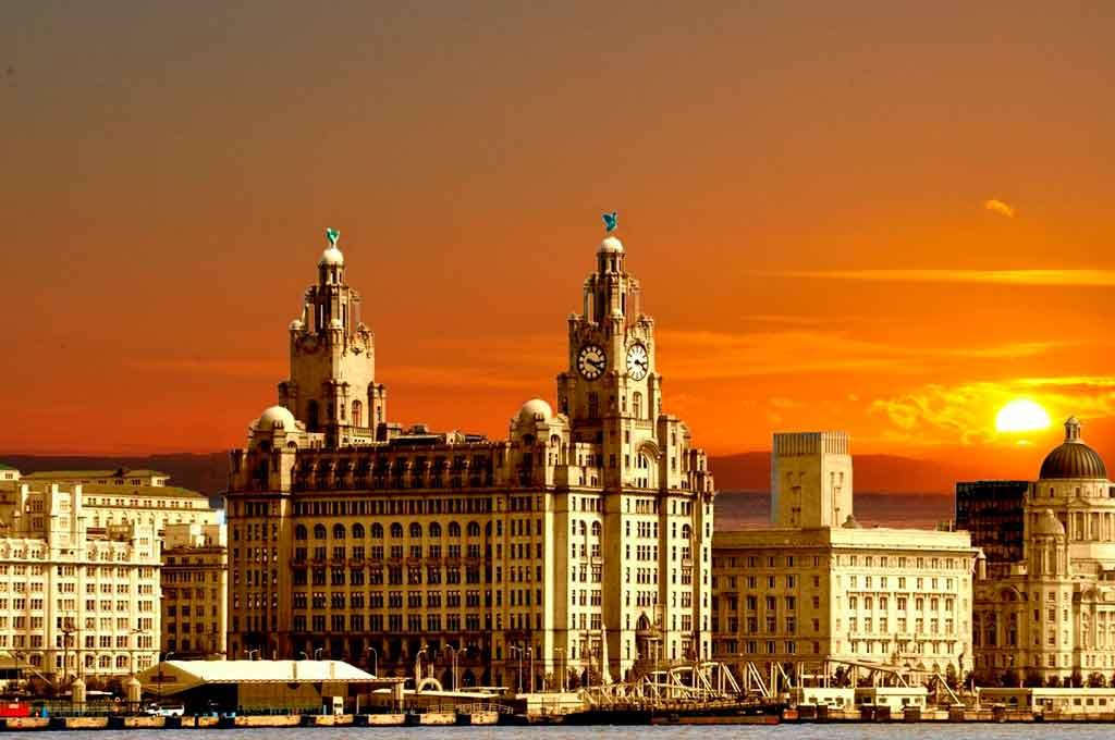 Cidade de Liverpool Capa