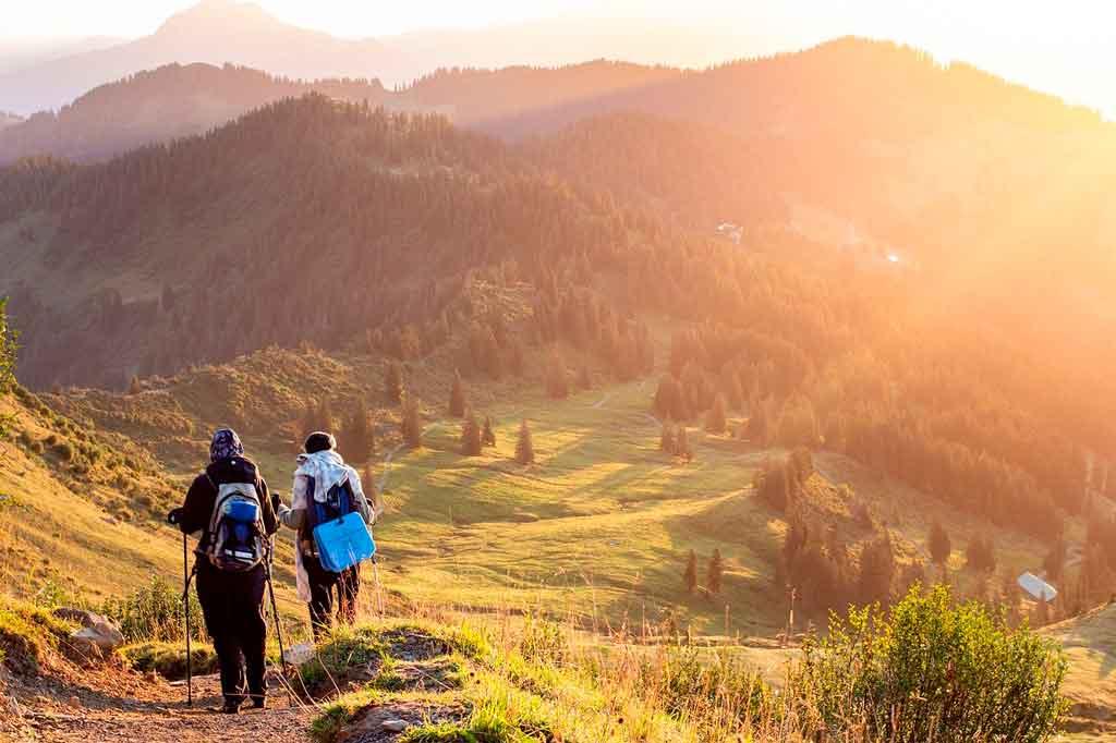 Esportes de aventura trekking