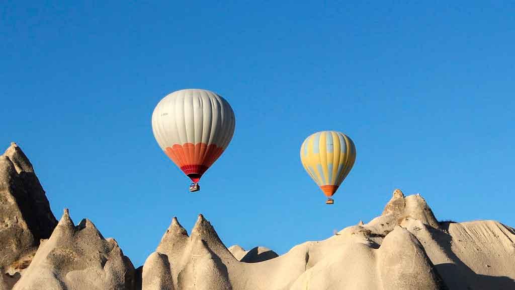 Esportes de aventura balonismo