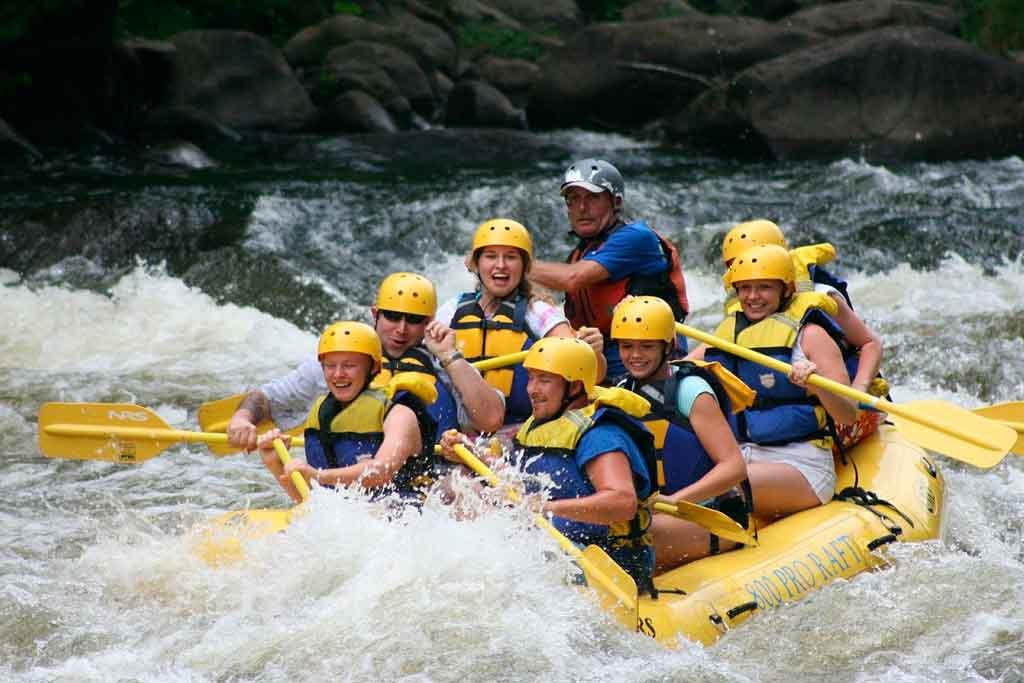 Esportes de aventura raftting