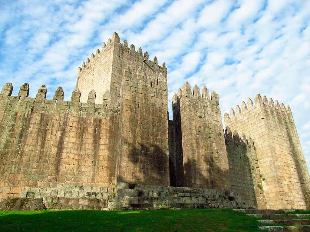 Guimarães Portugal castelo