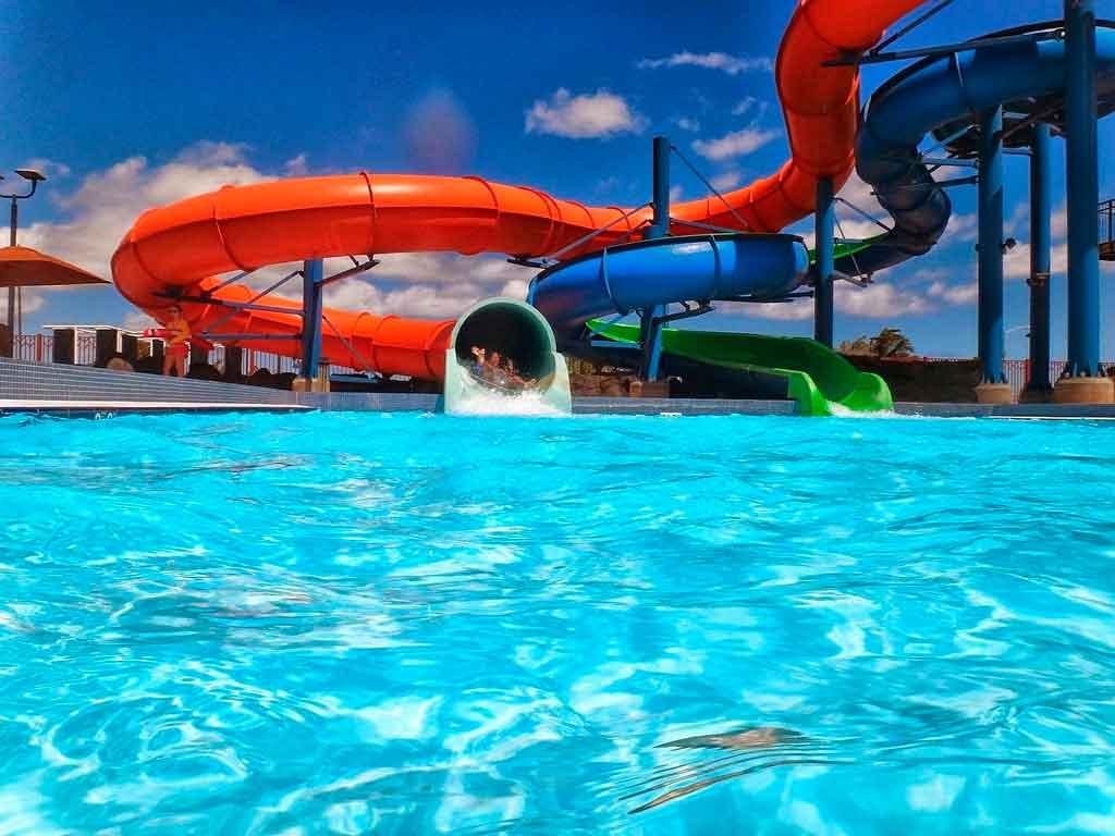 Guimarães Portugal Parque aquático de Fafe
