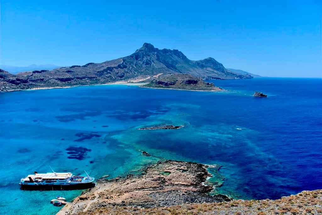 Ilha de Creta Balos Beach