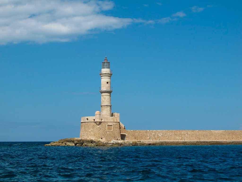 Ilha de Creta onde fica