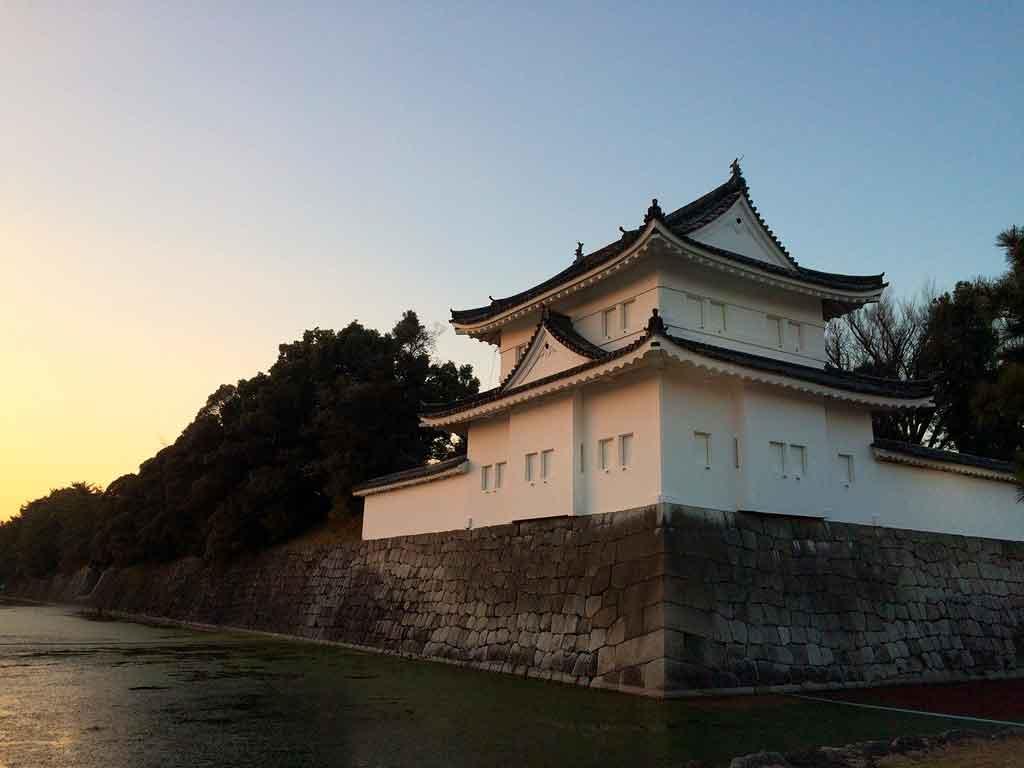 Kyoto Japão Castelo de Nijo