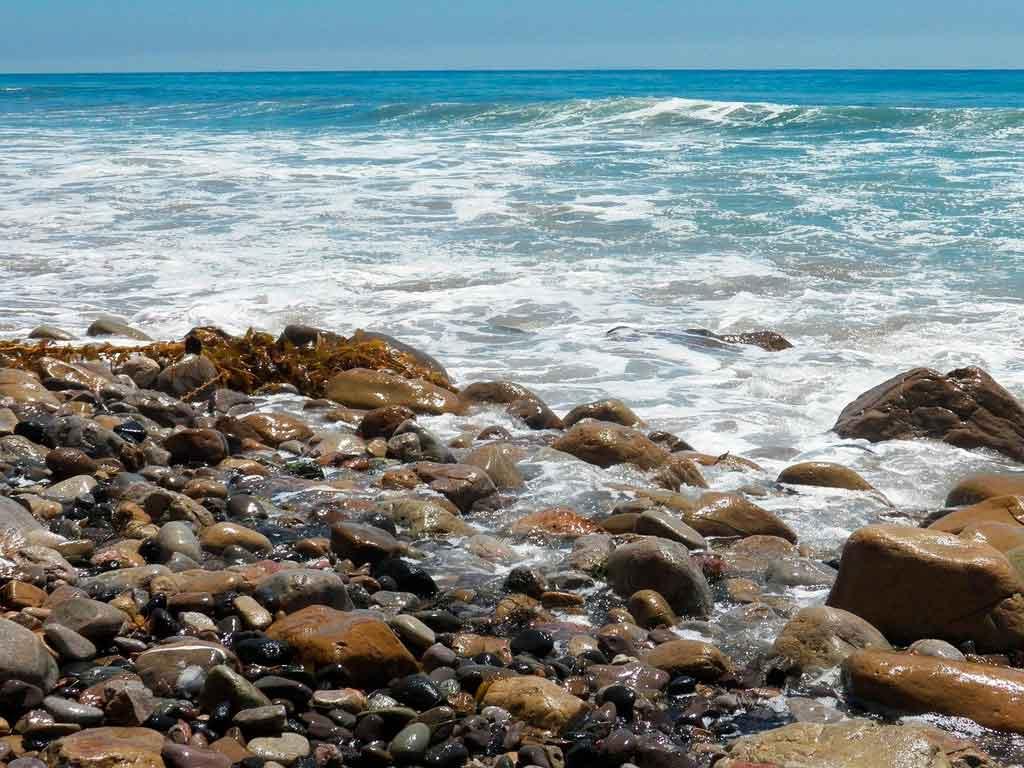 Malibu California praia paradise cave
