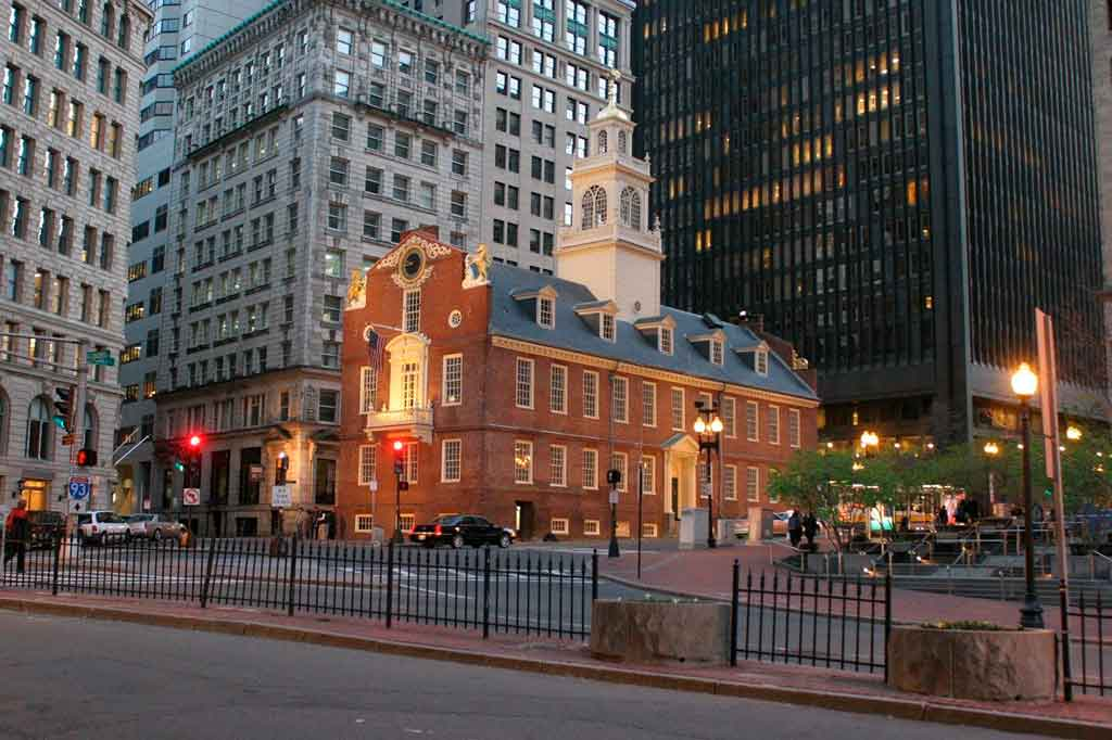 Onde fica Bostom Old State House