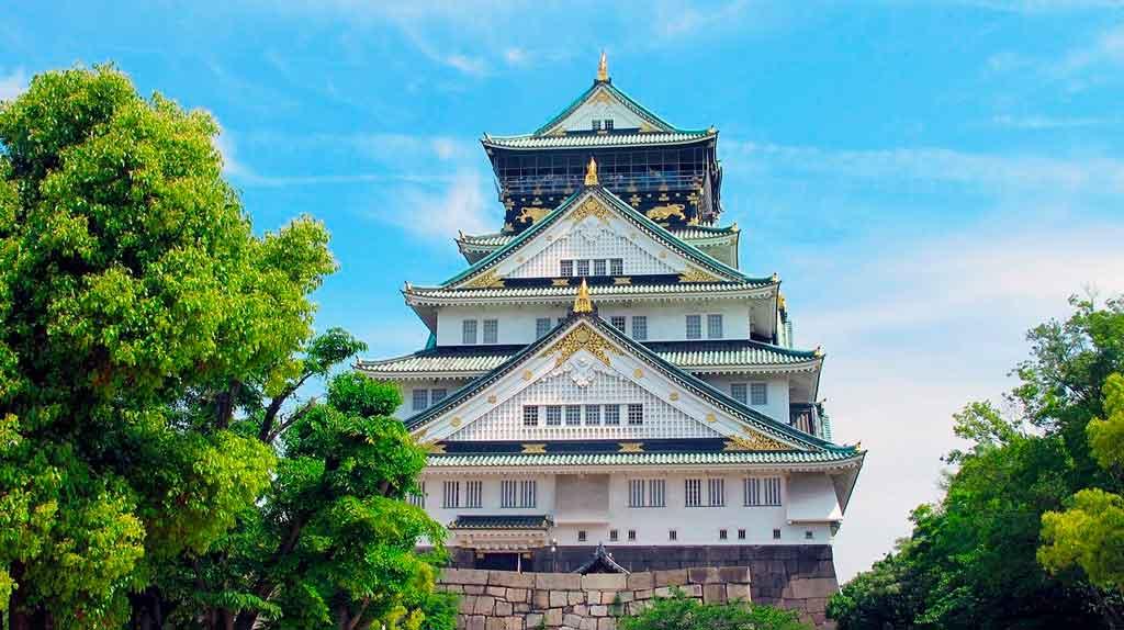 Osaka Japão Castelo de Osaka
